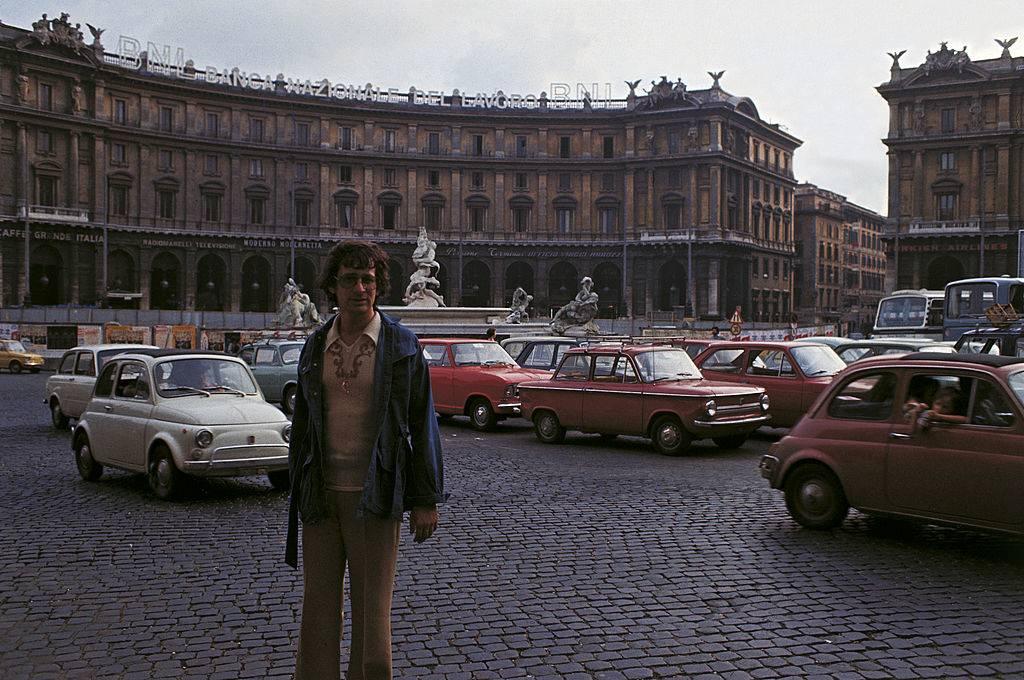 Steven Spielberg in Rome