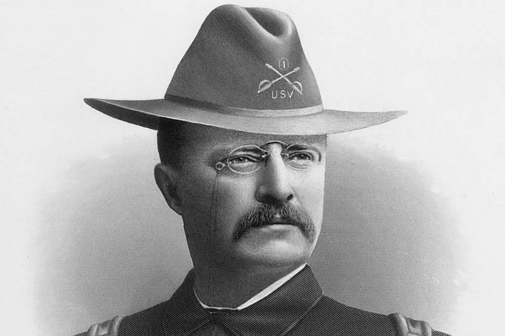 Roosevelt In A Hat