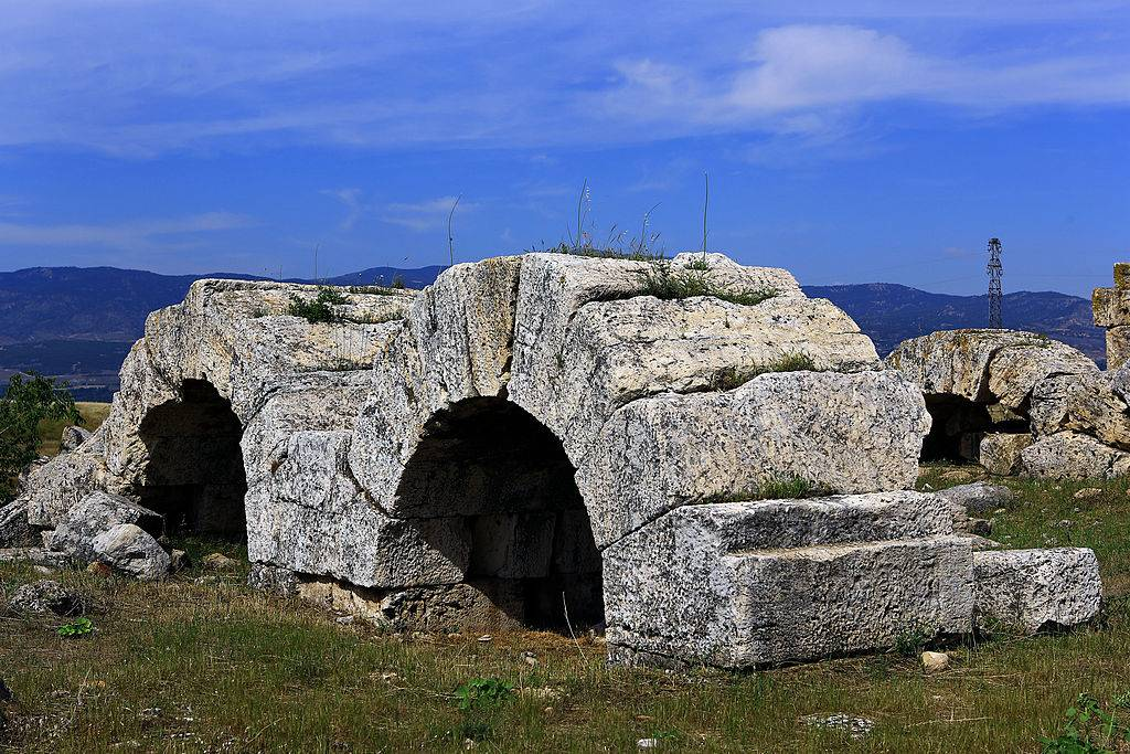 Remains of an aqueduct