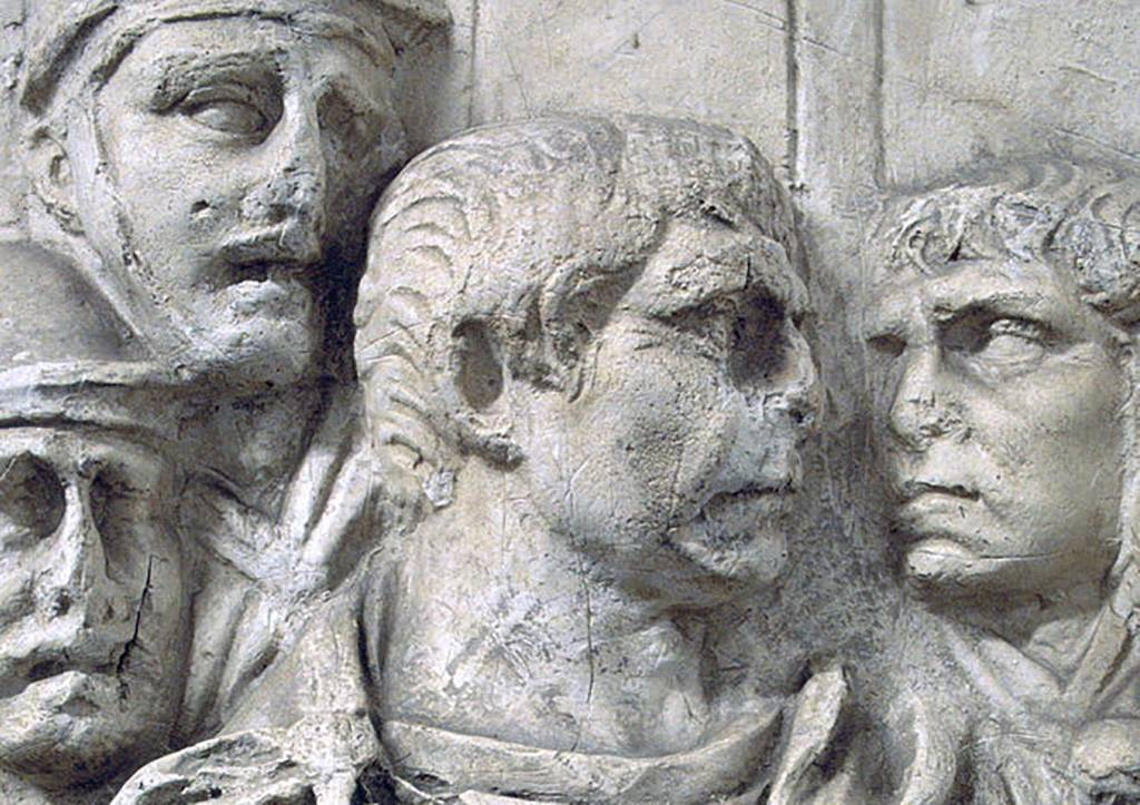 Roman bust of Trajan