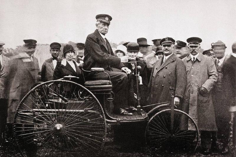 Karl Benz on automobile
