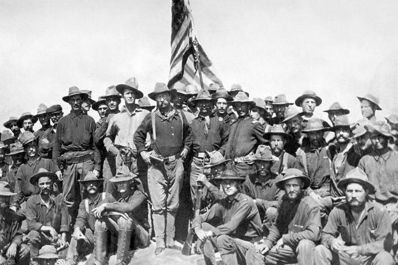 Roosevelt and his Rough Riders