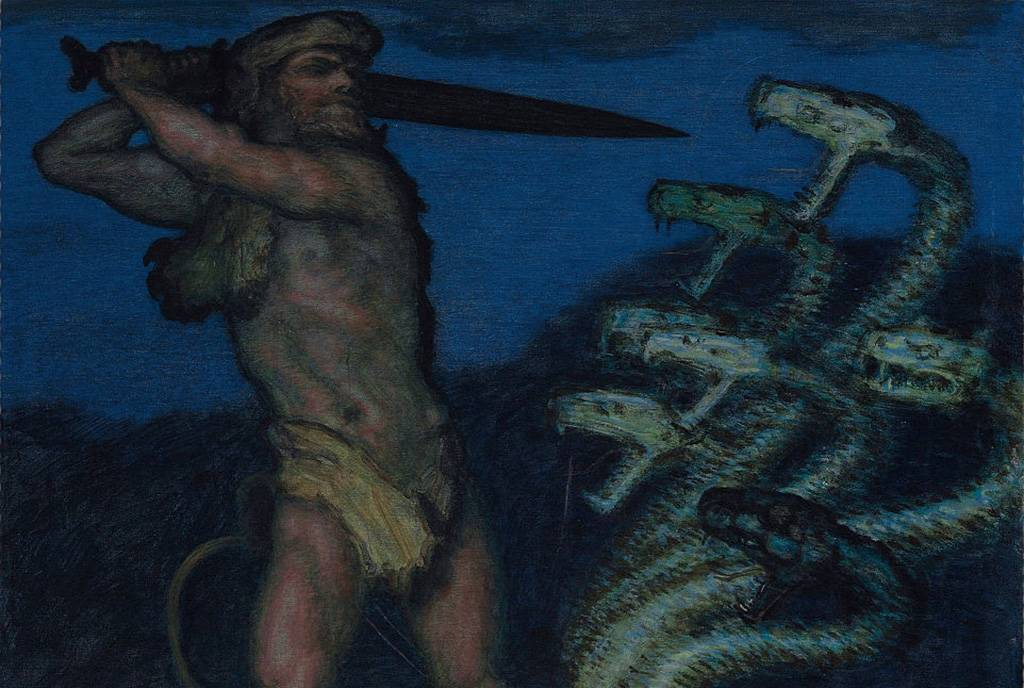 Hercules against the Hydra