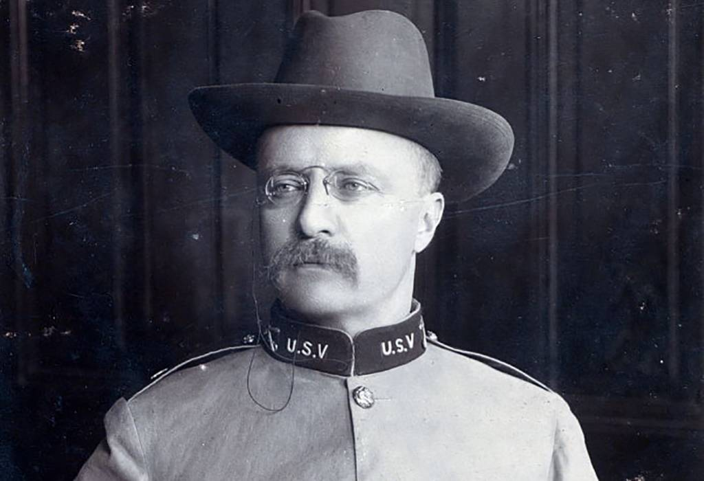 Roosevelt in uniform
