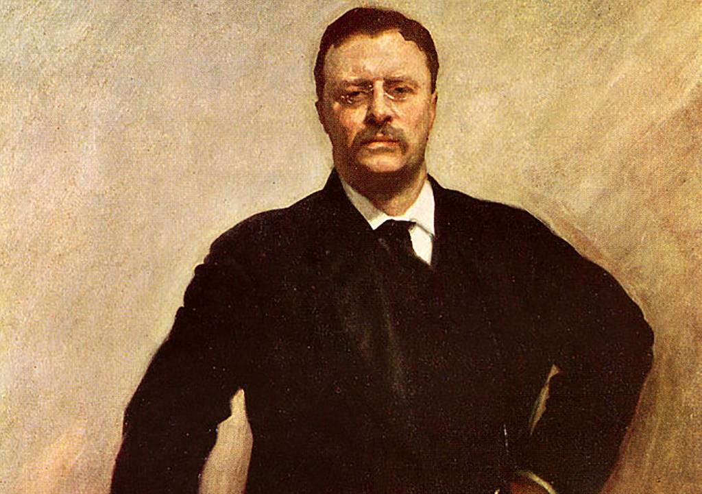 Painting of Roosevelt