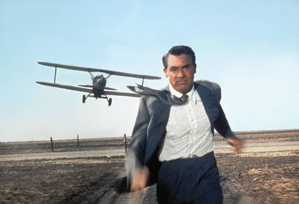 Grant in North by Northwest