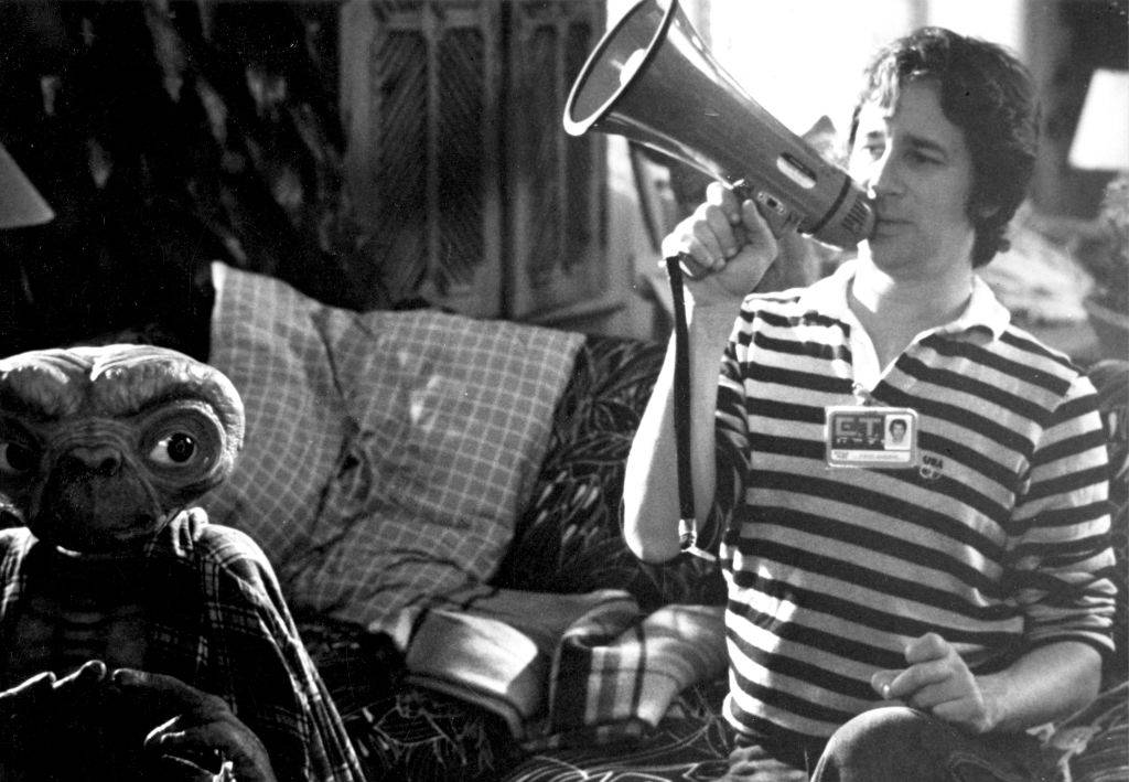 Spielberg with a megaphone