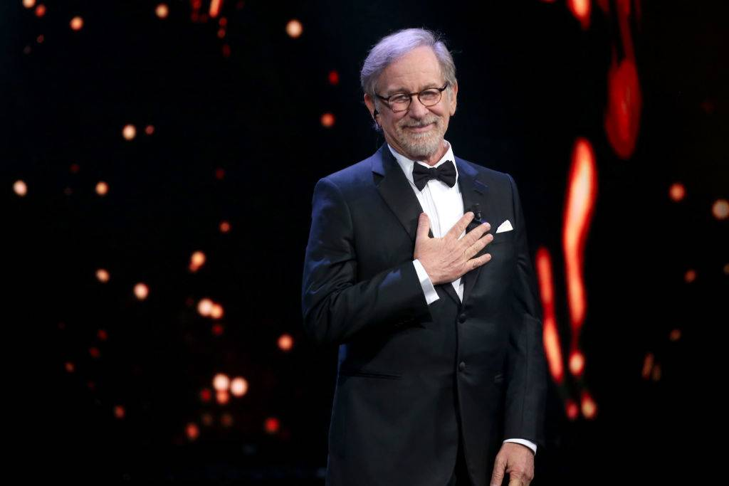 Spielberg receives a lifetime achievement award