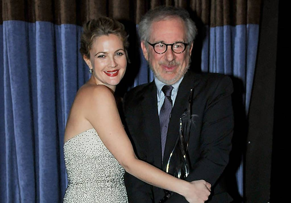 Spielberg and Barrymore