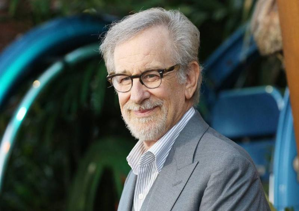 Spielberg at a premier