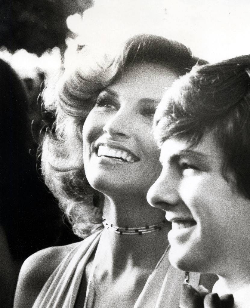 Raquel Welch and Son Damon Welch