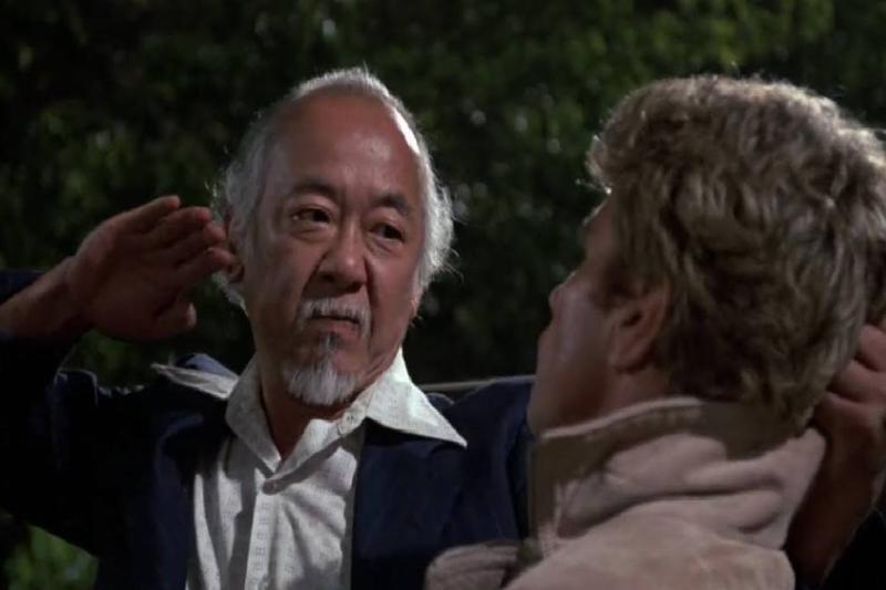 Mr. Miyagi vs. Kreese