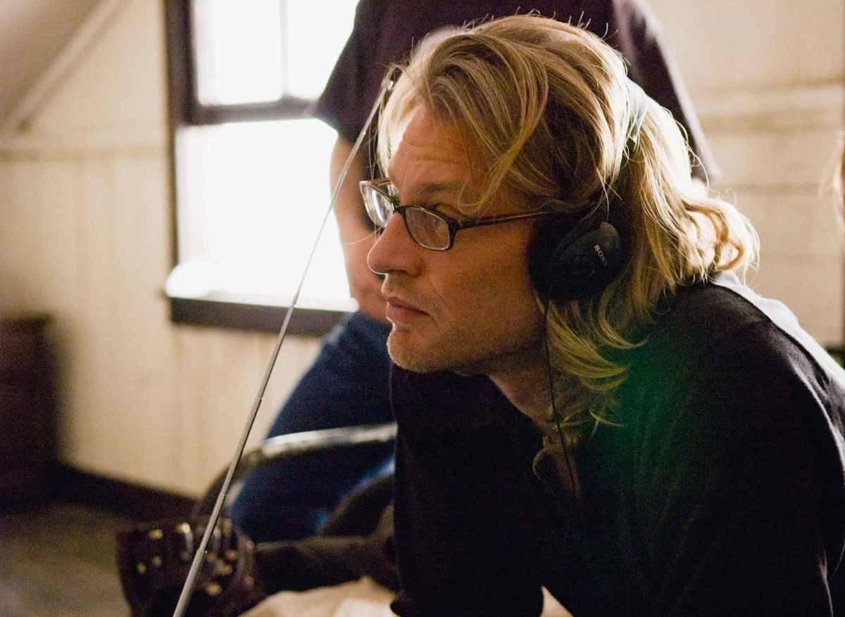 Andrew Dominik behind the scenes