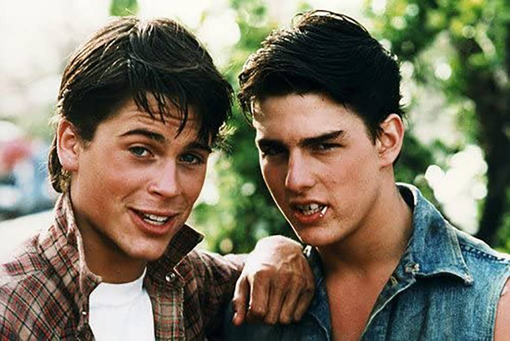 Rob Lowe and Tom Cruise