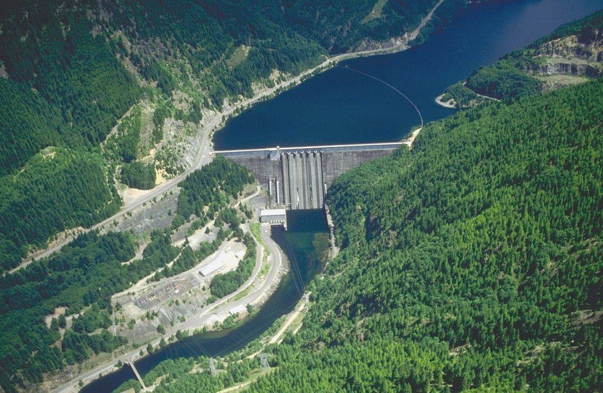 Picture of the Detroit Dam