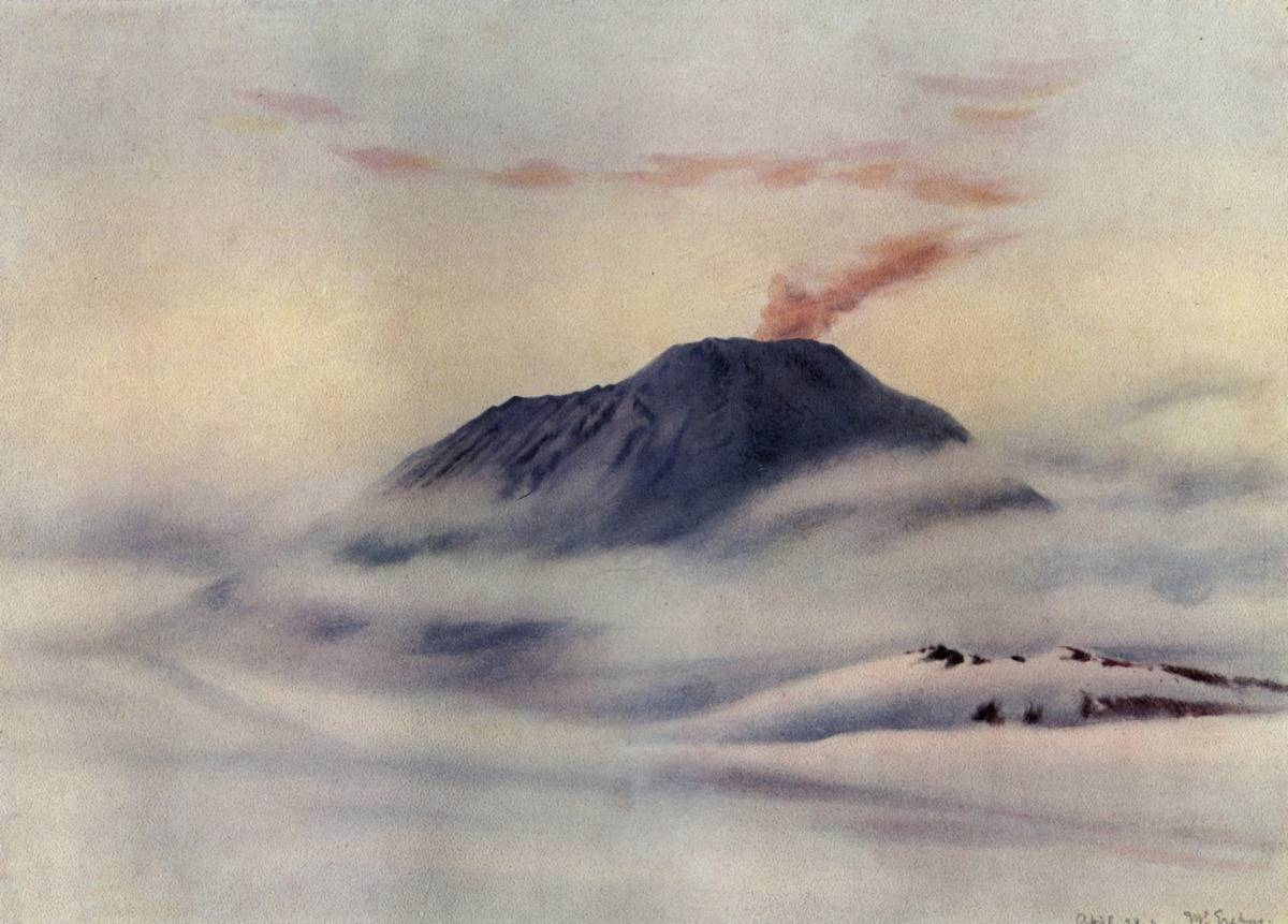 Mount Erebus Erupts For Years On End