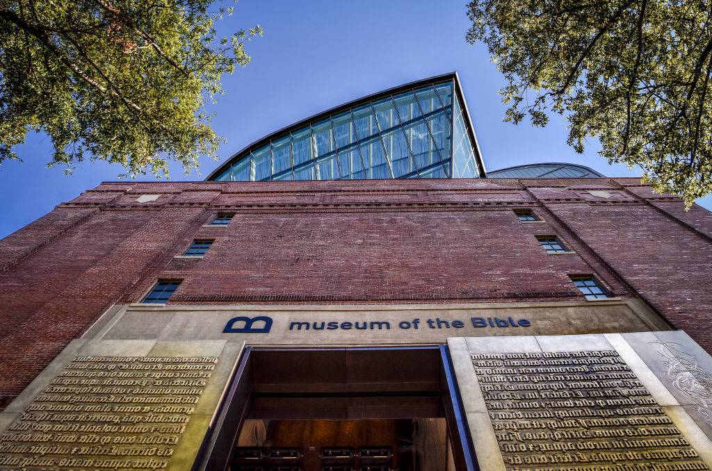 Exterior of the Museum of the Bible