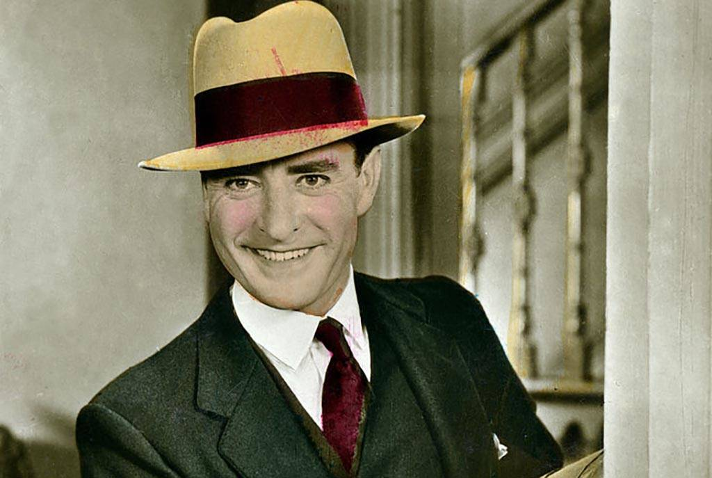 Colored picture of John Gilbert