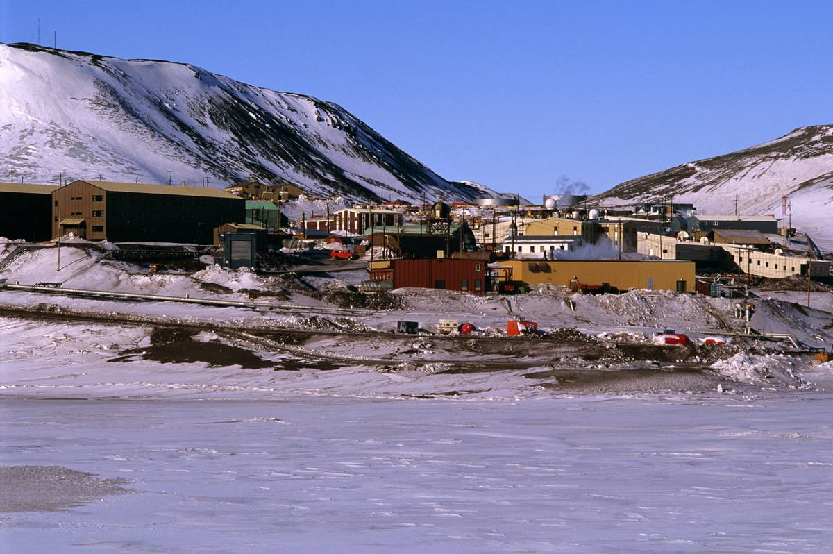 Ross Island Is Home To Two Research Facilities
