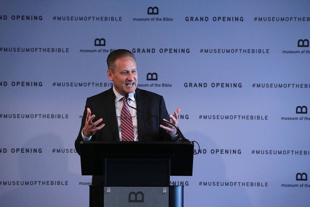 Grand opening of the Museum of the Bible