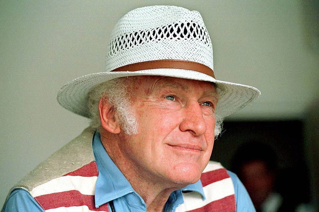 Ken Kesey in a hat