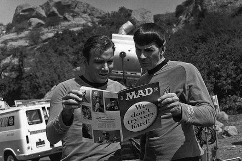 Mad Magazine Star Trek