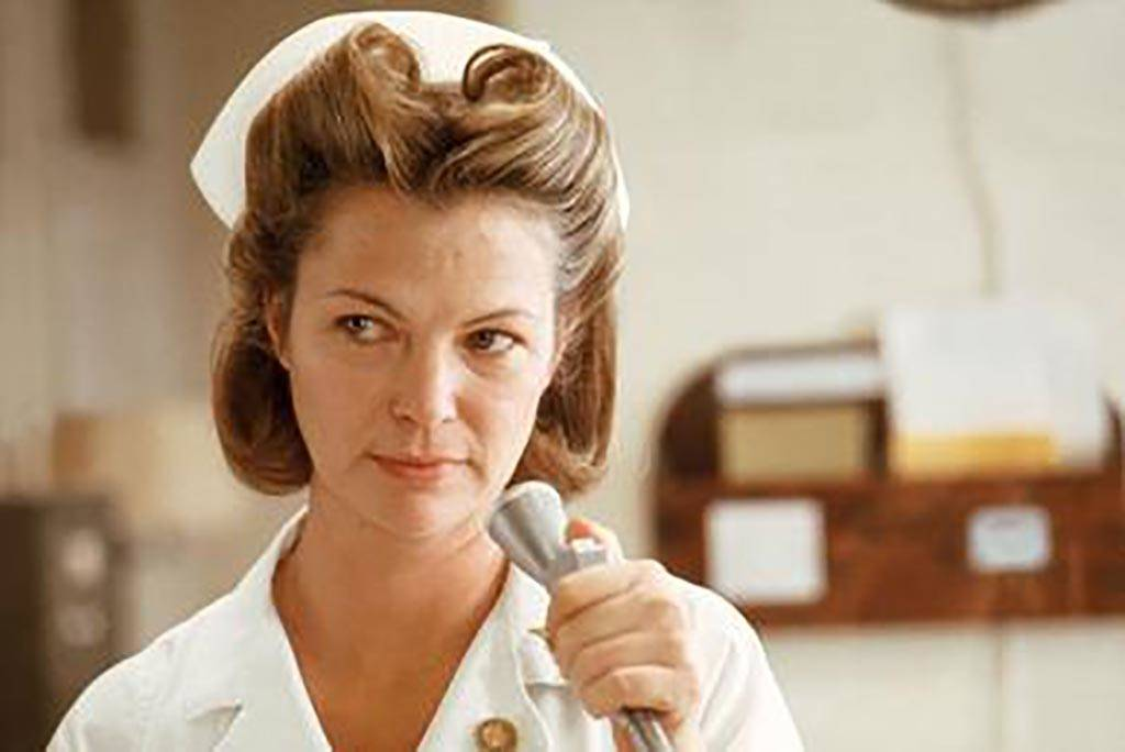 Louise Fletcher as Ratched