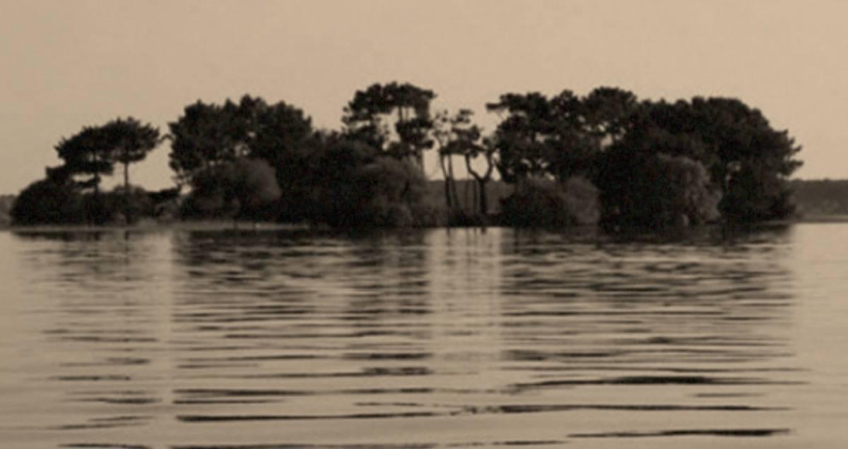 photo of the island