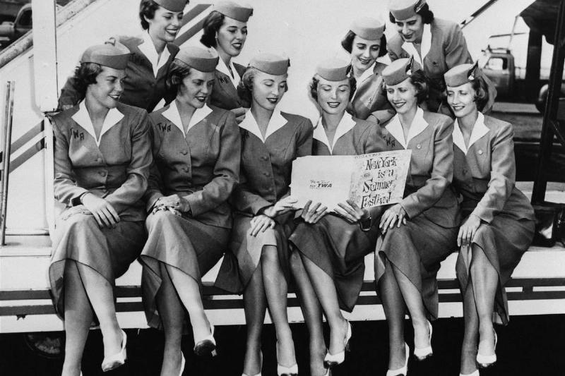 Vintage-Flight-Attendants