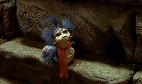 The Worm in Labyrinth