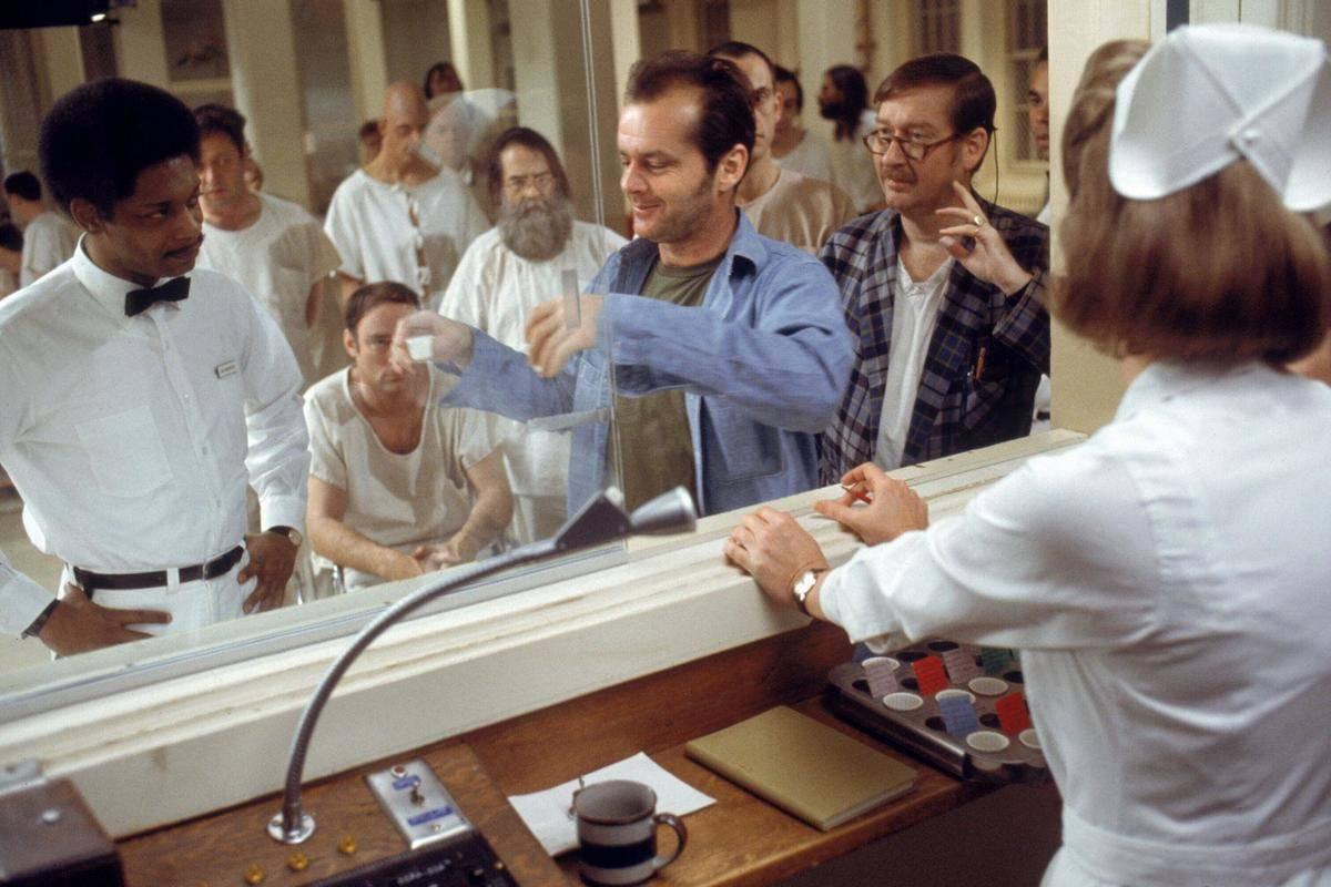 Nicholson in the film