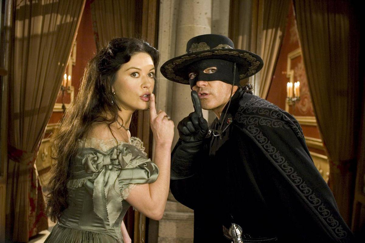 Banderas and Zeta-Jones in the sequel