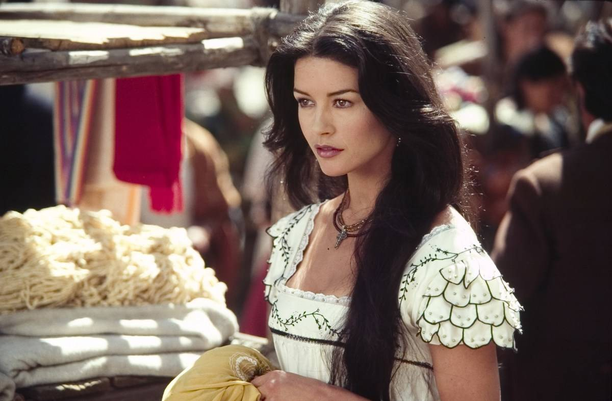 Catherine Zeta-Jones in Zorro