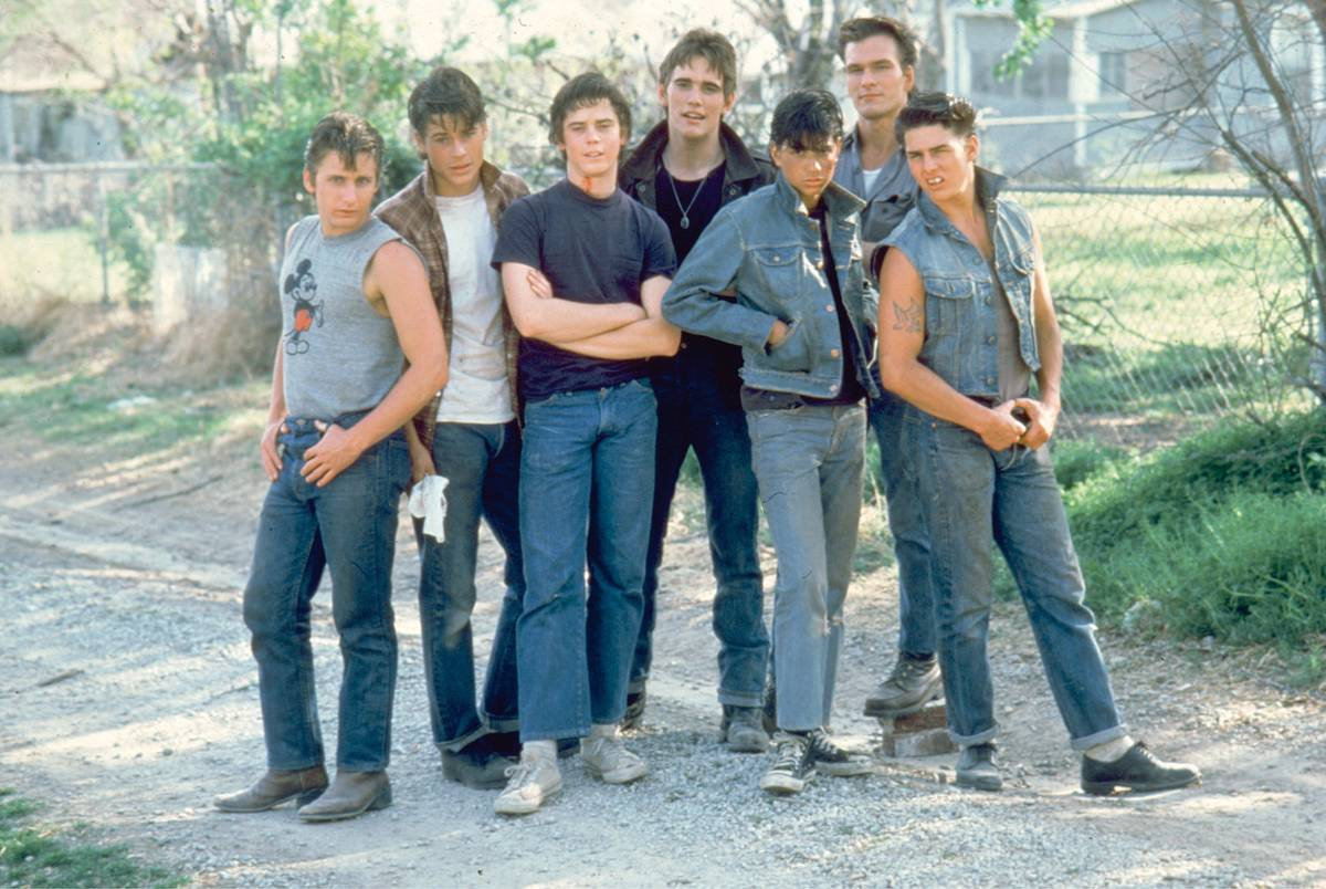 Male cast of the Greasers