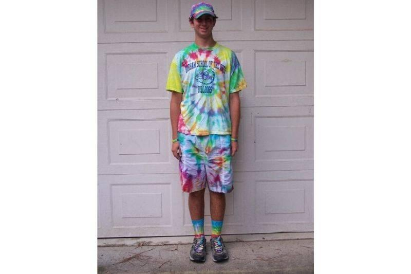 tie dye king for junior year