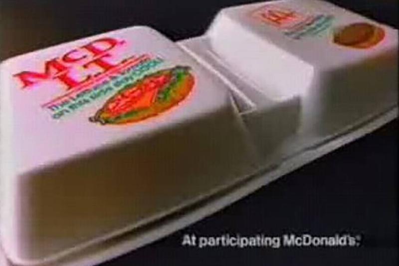 Box of McDLT
