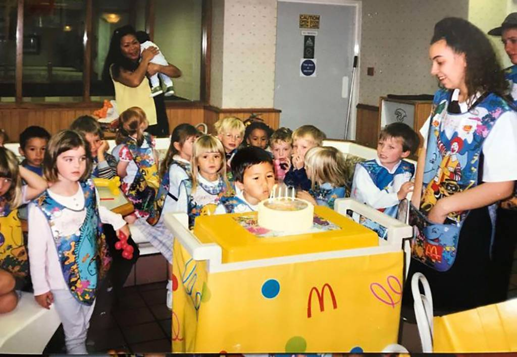 Birthday party at McDonalds