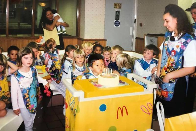 Birthday party at McDonalds