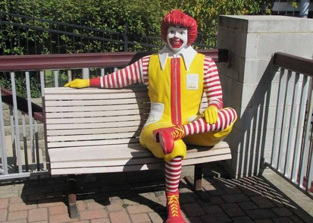 Ronald bench