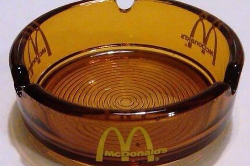 McDonald's Ashtray