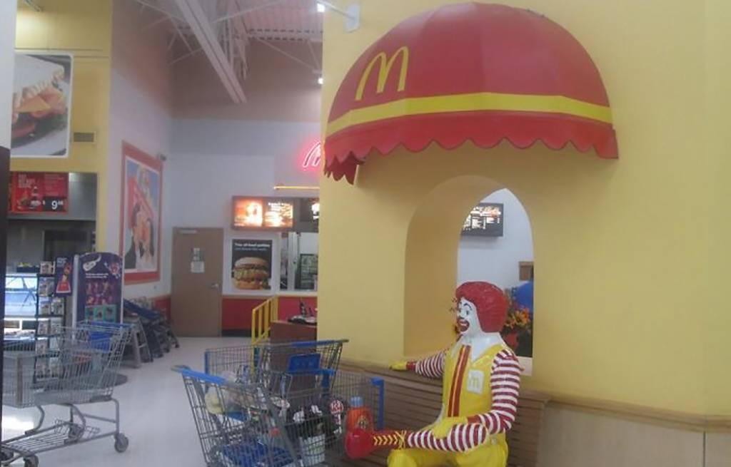 McDonald's in Walmart