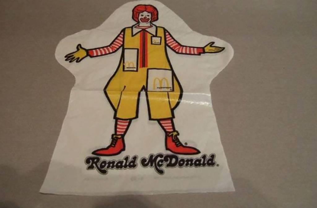 Ronald McDonald Puppet