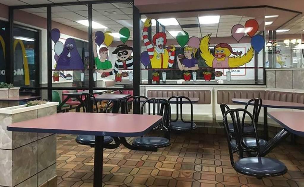 Paintings in McDonalds