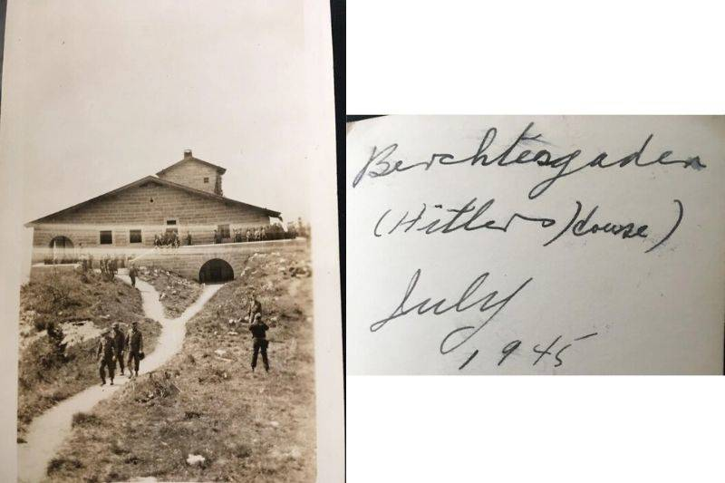 a picture from WWII at Eagle's Nest in Germany