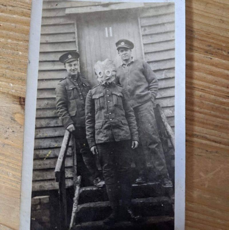 a picture from WWI