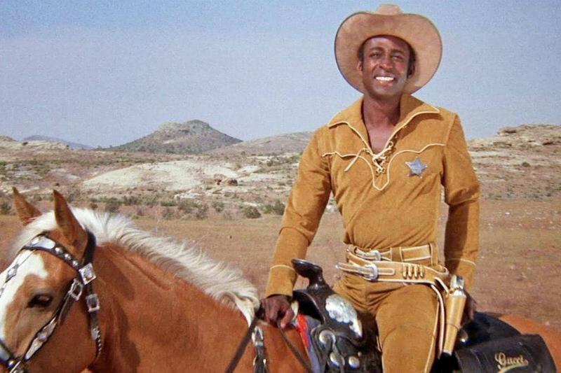 Little in Blazing Saddles