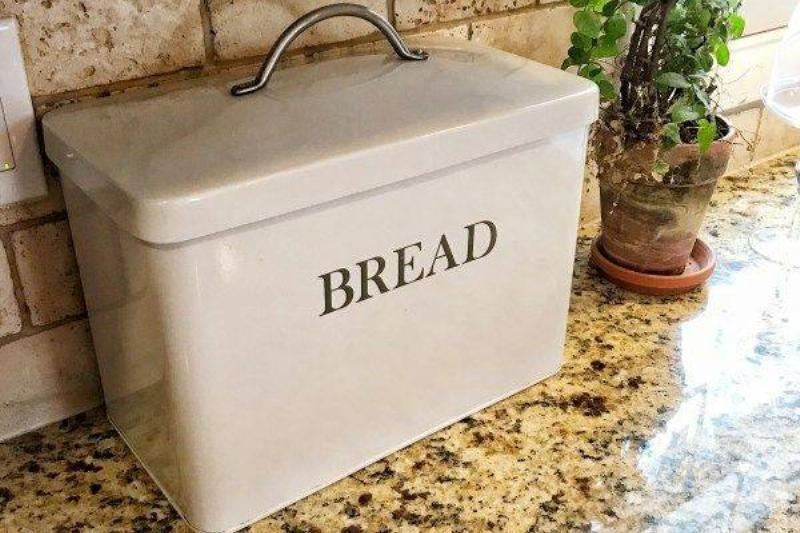 A Box Designated For All Types Of Bread