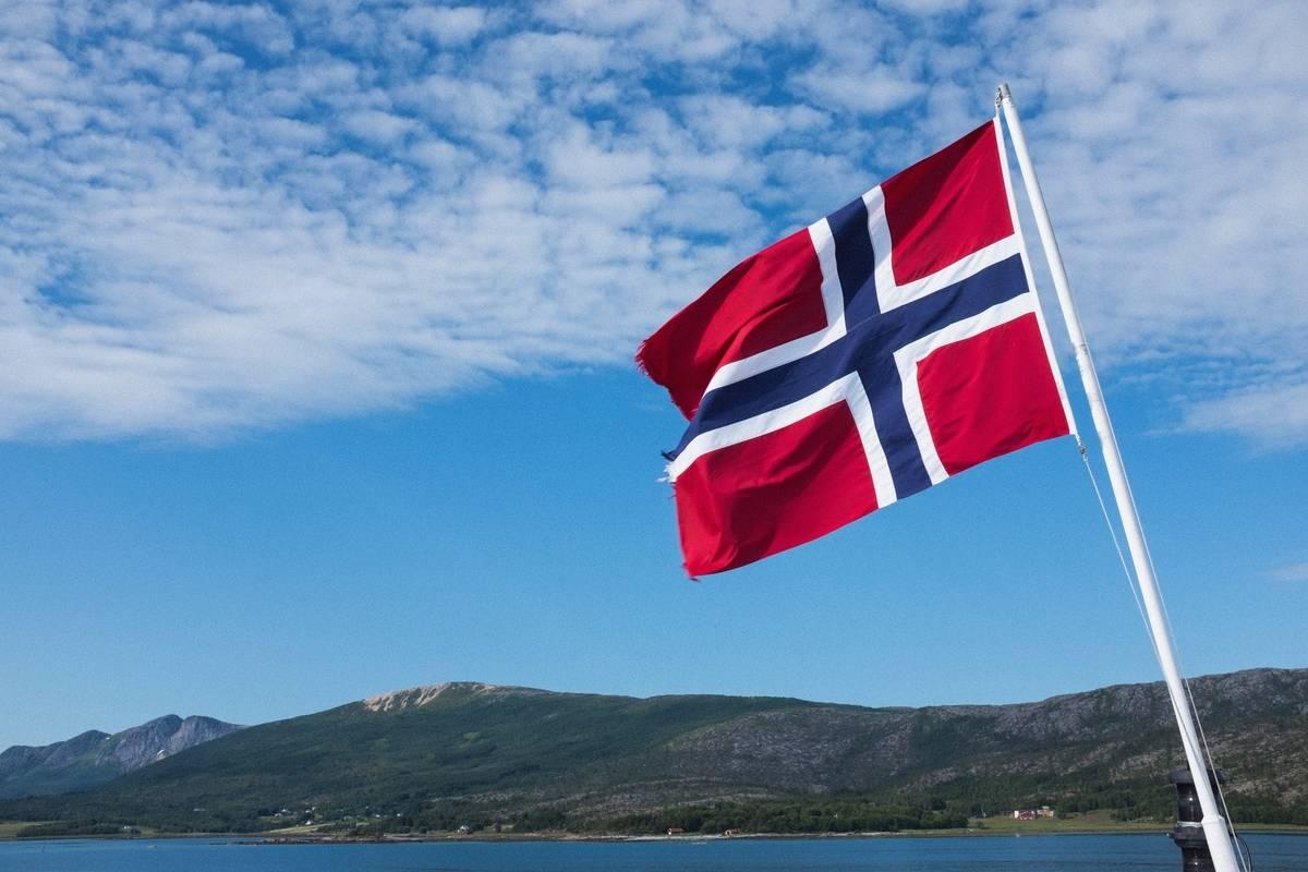 Flag. norway.
