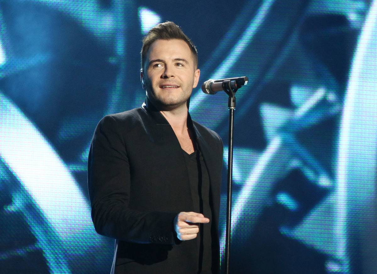 Shane Filan from Westlife performs at annual children's charity concert