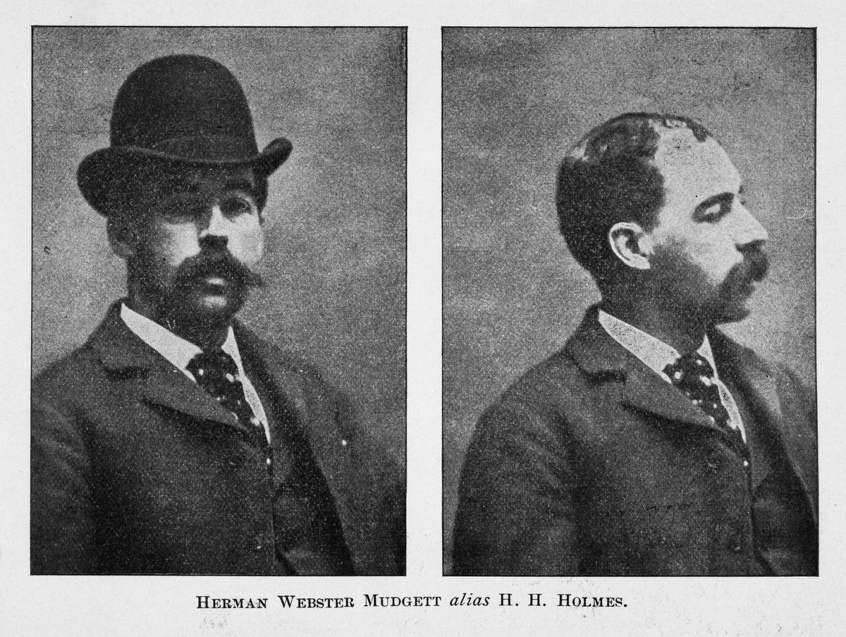American pharmacist and convicted serial killer Herman Webster Mudget